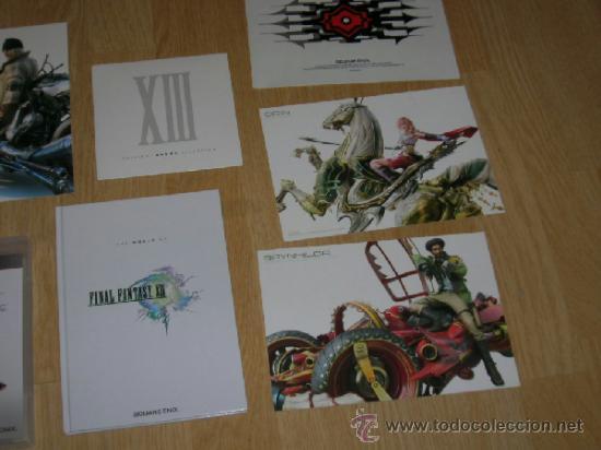 Videojuegos y Consolas: FINAL FANTASY XIII Edicion Limitada Coleccionistas PLAYSTATION 3 Pal España CASTELLANO Libro extras - Foto 3 - 38037494