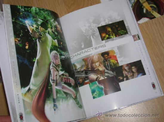 Videojuegos y Consolas: FINAL FANTASY XIII Edicion Limitada Coleccionistas PLAYSTATION 3 Pal España CASTELLANO Libro extras - Foto 4 - 38037494