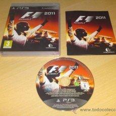 Videojuegos y Consolas: JUEGO PLAY 3 F1 2011. Lote 38776745