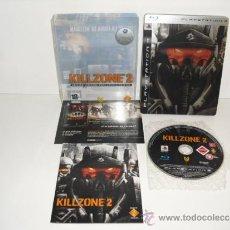 Videojuegos y Consolas: KILLZONE 2 EDICION LIMITADA COLECCIONISTAS PLAYSTATION 3 PS3 COMPLETO PAL ESPAÑA CAJA METALICA. Lote 38876537