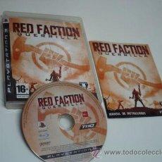 Videojuegos y Consolas: RED FACTION GUERRILLA. Lote 39150031