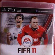 Videojuegos y Consolas: PS3. FIFA 11. IMPRESIONANTE JUEGO CON LOS GRANDES DEL FUTBOL. . Lote 39156440