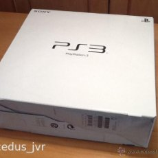 Videojuegos y Consolas: CAJA DE LA CONSOLA SONY PLAY STATION PLAYSTATION 3 PS3 PAL EN BUEN ESTADO. Lote 41352282
