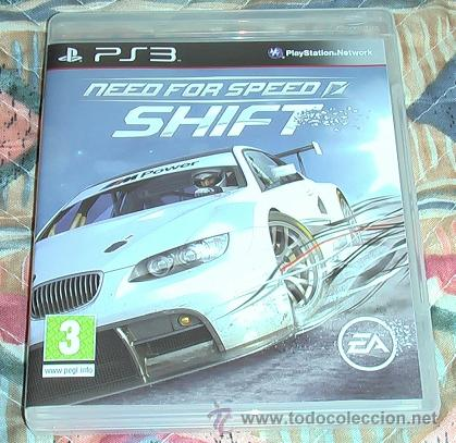 JUEGO PS3. NEED FOR SPEED SHIFT. (Juguetes - Videojuegos y Consolas - Sony - PS3)