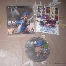 Videojuegos y Consolas: JUEGO PLAY 3 BLAZ BLUE CALAMITY TRIGGER. Lote 41720316