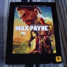 Videojuegos y Consolas: MAX PAYNE 3 - PLAYSTATION 3 - PLAY 3 - EDICIÓN COLECCIONISTA - EDICIÓN ESPAÑA - NUEVO. Lote 42021636