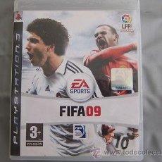 Videojuegos y Consolas: JUEGO PLAY 3 FIFA 09. Lote 42721460