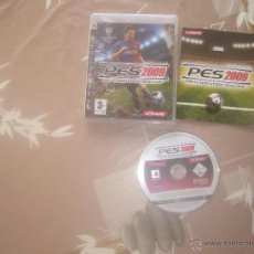 Videojuegos y Consolas: JUEGO PLAY 3 PES 2009. Lote 43046293