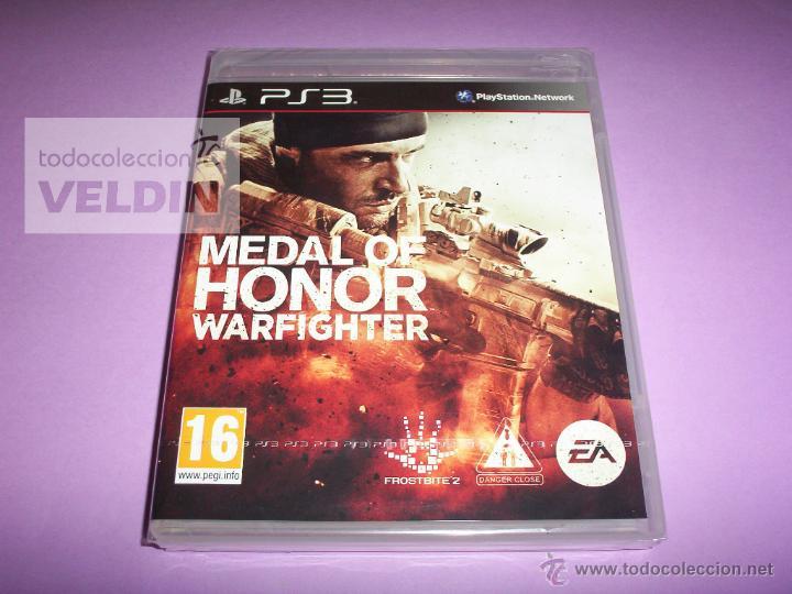 MEDAL OF HONOR WARFIGHTER NUEVO Y PRECINTADO PAL ESPAÑA PLAYSTATION 3 segunda mano