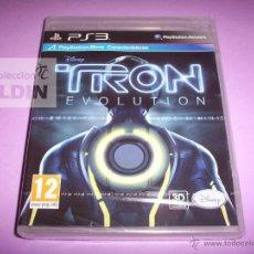 Videojuegos y Consolas: TRON EVOLUTION NUEVO Y PRECINTADO PAL ESPAÑA PLAYSTATION 3. Lote 43253431