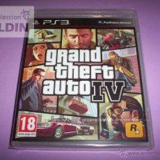Videojuegos y Consolas: GRAND THEFT AUTO 4 NUEVO Y PRECINTADO PAL ESPAÑA PLAYSTATION 3. Lote 107668415