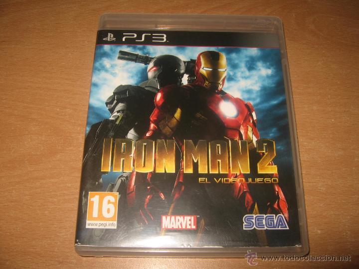 IRON MAN 2 EL VIDEOJUEGO PS3 PAL ESPAÑA COMPLETO (Juguetes - Videojuegos y Consolas - Sony - PS3)