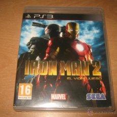 Videojuegos y Consolas: IRON MAN 2 EL VIDEOJUEGO PS3 PAL ESPAÑA COMPLETO. Lote 43979902