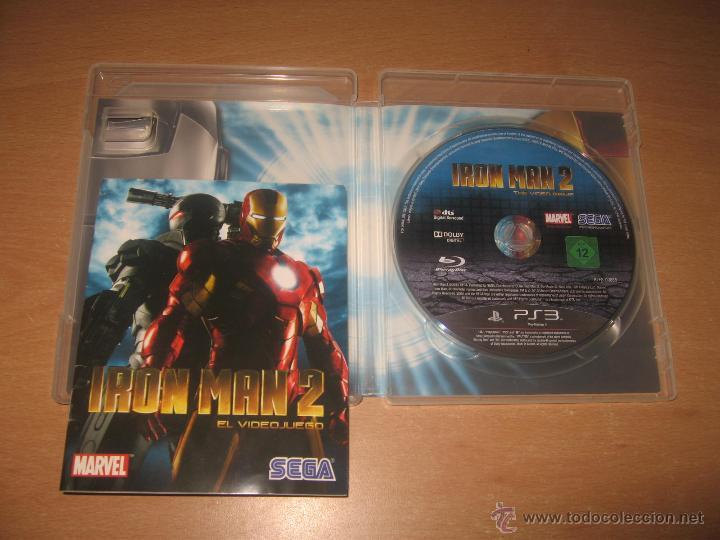 Videojuegos y Consolas: IRON MAN 2 EL VIDEOJUEGO PS3 PAL ESPAÑA COMPLETO - Foto 3 - 43979902