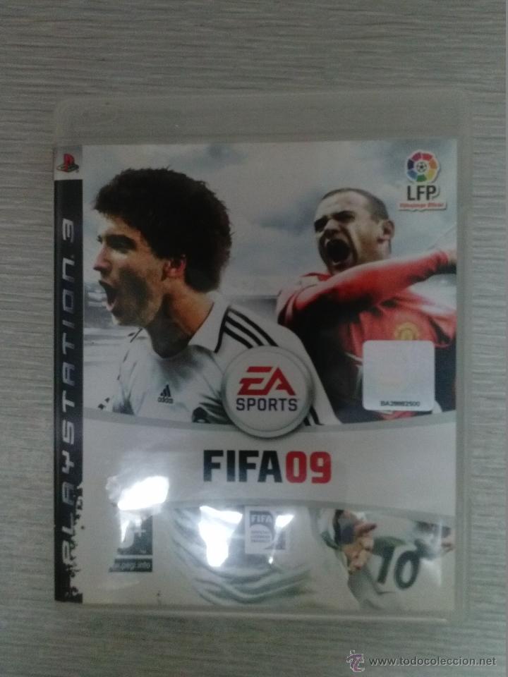 JUEGO DE PS3 FIFA 09 - FUNCIONANDO (Juguetes - Videojuegos y Consolas - Sony - PS3)