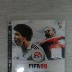 Videojuegos y Consolas: JUEGO DE PS3 FIFA 09 - FUNCIONANDO. Lote 44699810