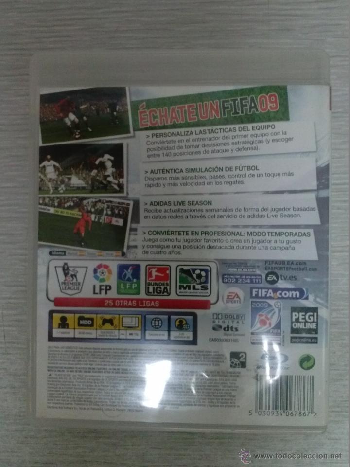 Videojuegos y Consolas: JUEGO DE PS3 FIFA 09 - FUNCIONANDO - Foto 2 - 44699810