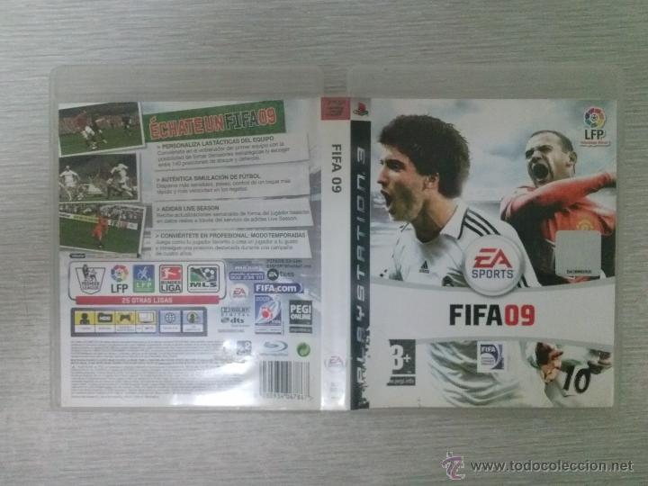 Videojuegos y Consolas: JUEGO DE PS3 FIFA 09 - FUNCIONANDO - Foto 3 - 44699810