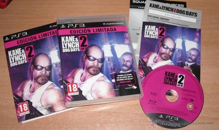 JUEGO PS3 KANE & LYNCH 2 DOG DAYS EDICION LIMITADA - COMPLETO - EDICION PAL ESPAÑA (Juguetes - Videojuegos y Consolas - Sony - PS3)
