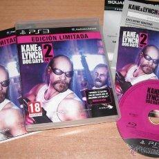 Videojuegos y Consolas: JUEGO PS3 KANE & LYNCH 2 DOG DAYS EDICION LIMITADA - COMPLETO - EDICION PAL ESPAÑA. Lote 44836096
