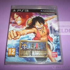 Videojuegos y Consolas: ONE PIECE PIRATE WARRIORS NUEVO Y PRECINTADO PAL ESPAÑA PLAYSTATION 3. Lote 45152012