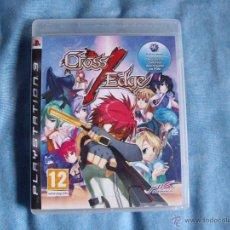 Videojuegos y Consolas: CROSS EDGE - PLAYSTATION 3 - NUEVO PRECINTADO - PS3 - EDICION ESPAÑA - RARO!!. Lote 45295523