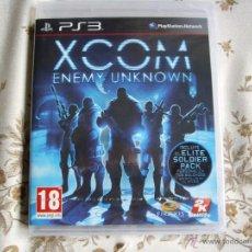 Videojuegos y Consolas: XCOM ENEMY UNKNOWN - PS3 - PLAYSTATION 3 - EDICIÓN ESPAÑA - NUEVO PRECINTADO. Lote 45384759