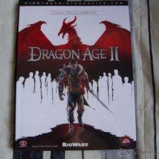 Videojuegos y Consolas: GUÍA OFICIAL - DRAGON AGE 2 II - ESPAÑOLA - PRECINTADA - NUEVA - PIGGYBACK - PS3 XBOX 360 PC. Lote 45695036