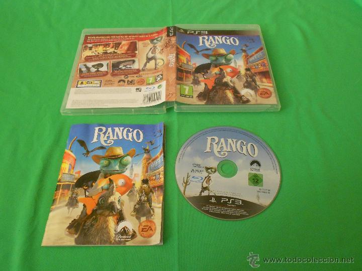 RANGO - PS3 - EA - CON INSTRUCCIONES - BAD BILL (Juguetes - Videojuegos y Consolas - Sony - PS3)