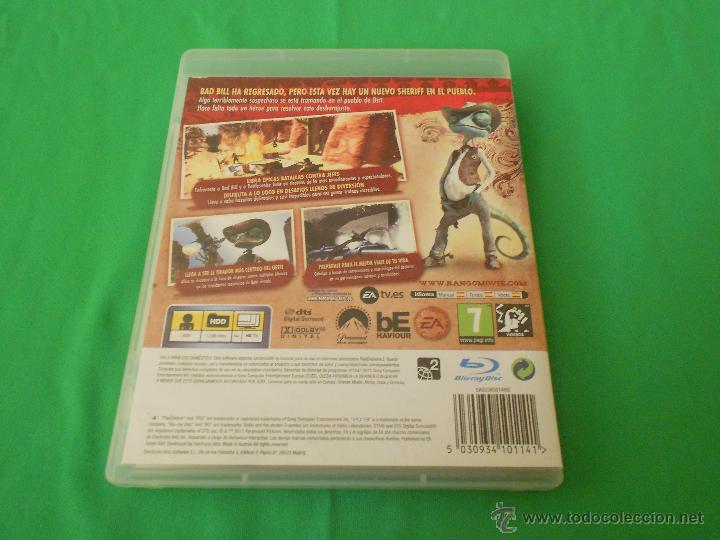 Videojuegos y Consolas: RANGO - PS3 - EA - CON INSTRUCCIONES - BAD BILL - Foto 3 - 46043491