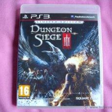 Videojuegos y Consolas: DUNGEON SIEGE 3 EDICION LIMITADA - PS3 - NUEVO - EDICION ESPAÑA - PLAYSTATION 3. Lote 46229295