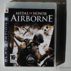 Videojuegos y Consolas: MEDAL OF HONOR AIRBORNE. EDICION PAL ESPAÑA. COMPLETO. PLAYSTATION 3. PS3. Lote 152479904