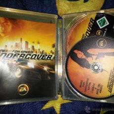 Videojuegos y Consolas: PS3 NEED FOR SPEED UNDERCOVER EDICIÓN ESPECIAL COLECCIONISTA CAJA STEELBOK, VIDEOJUEGO + DVD EXTRAS. Lote 46414219