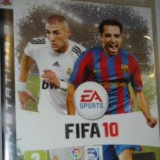 Videojuegos y Consolas: FIFA 10 PLAY STATION 3 . Lote 46792332