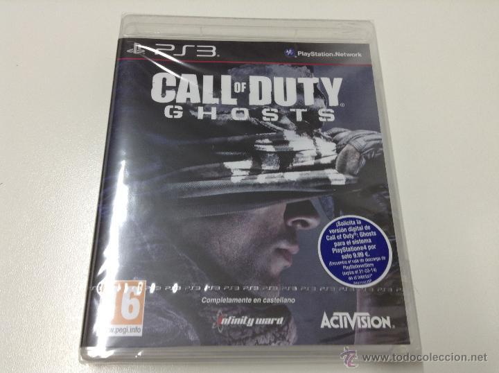 CALL OF DUTY GHOSTS (Juguetes - Videojuegos y Consolas - Sony - PS3)