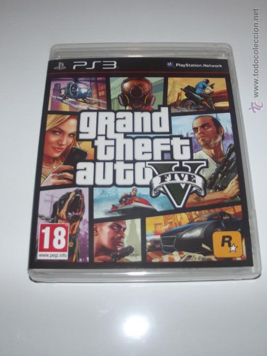 Juego Gta V Grand Theft Auto V Playstation Comprar Videojuegos