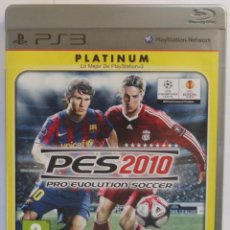 Videojuegos y Consolas: PRO EVOLUTION SOCCER 2010 PLATINUM PS3 . Lote 47412922