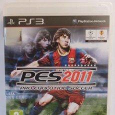 Videojuegos y Consolas: PRO EVOLUTION SOCCER 2011 PS3 . Lote 47412947