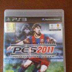 Videojuegos y Consolas: JUEGO PS3 PES 2011 PRO EVOLUTION SOCCER PERFECTO ESTADO. Lote 47831495