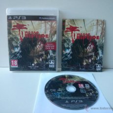 Videojuegos y Consolas: JUEGO PLAY 3 DEAD ISLAND RIPTIDE. Lote 47888304