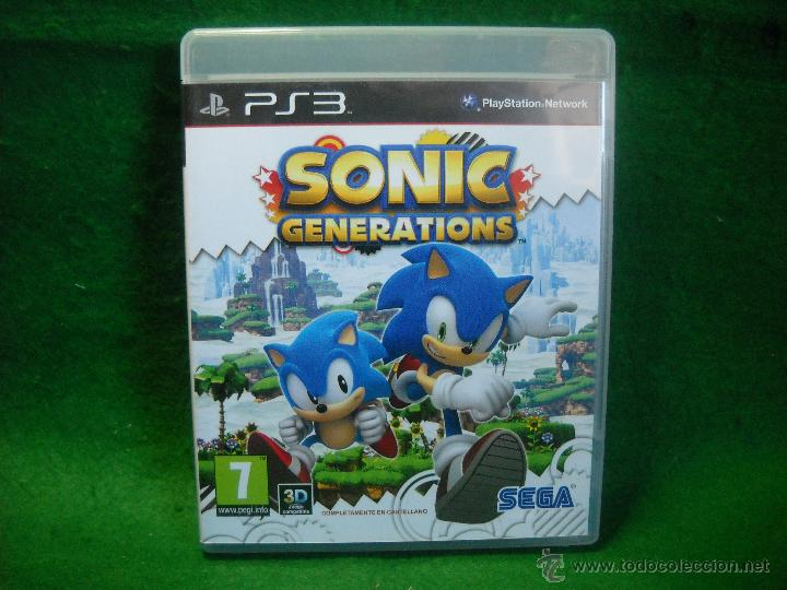 Sonic generations de playstation 3 - ps3 - Sold through