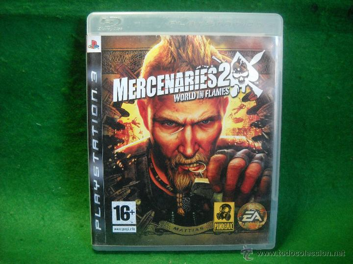Videojuegos y Consolas: MERCENARIES 2 WORLD IN FLAMES DE PLAYSTATION 3 - PS3 - Foto 1 - 48037889