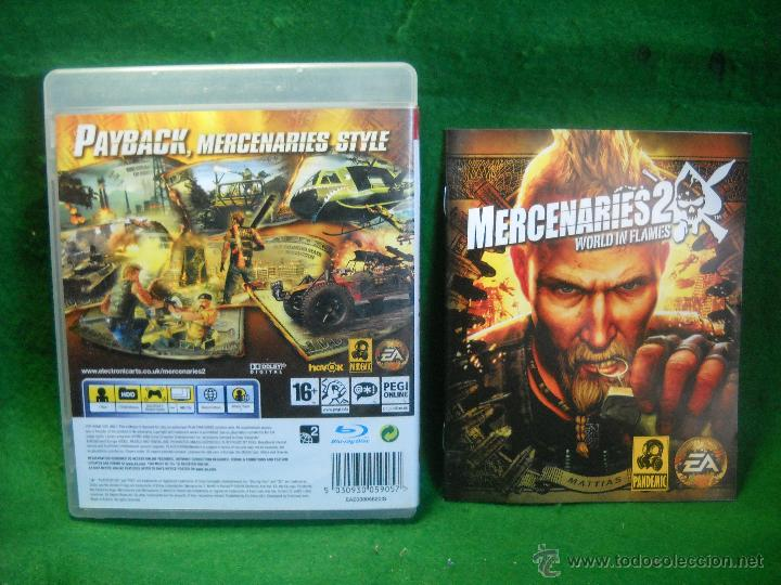 Videojuegos y Consolas: MERCENARIES 2 WORLD IN FLAMES DE PLAYSTATION 3 - PS3 - Foto 2 - 48037889