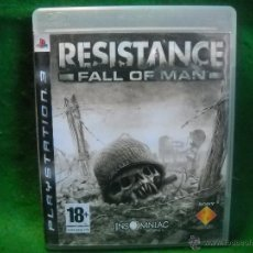Videojuegos y Consolas: RESISTANCE FALL OF MAN DE PLAYSTATION 3 - PS3. Lote 48038161