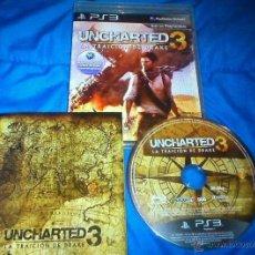 Videojuegos y Consolas: JUEGO PLAY 3 UNCHARTED 3. Lote 48103115