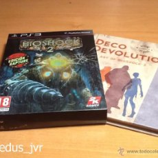 Videojuegos y Consolas: DECO DEVOLUTION THE ART OF BIOSHOCK 2 ARTBOOK + FUNDA PACK DEL JUEGO PARA PS3 PLAY STATION 3 LIBRO. Lote 48391120