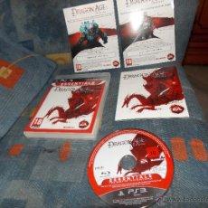 Videojuegos y Consolas: JUEGO PS3,VERSION,PAL ESPAÑA,DRAGON AGE ORIGINS,COMPLETO,PLAYSTATION 3. Lote 49074532