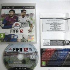 Videojuegos y Consolas: JUEGO PLAY 3 FIFA 12. Lote 49170915