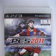 Videojuegos y Consolas: PRO EVOLUTION SOCCER 2011 - JUEGO PS3 (PLAYSTATION 3) - FUTBOL. Lote 49838208