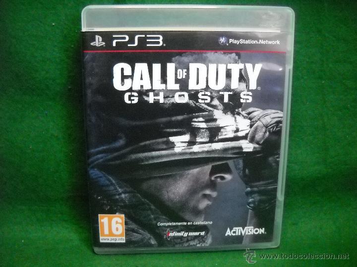 CALL OF DUTY GHOSTS PLAYSTATION 3 PS3 (Juguetes - Videojuegos y Consolas - Sony - PS3)
